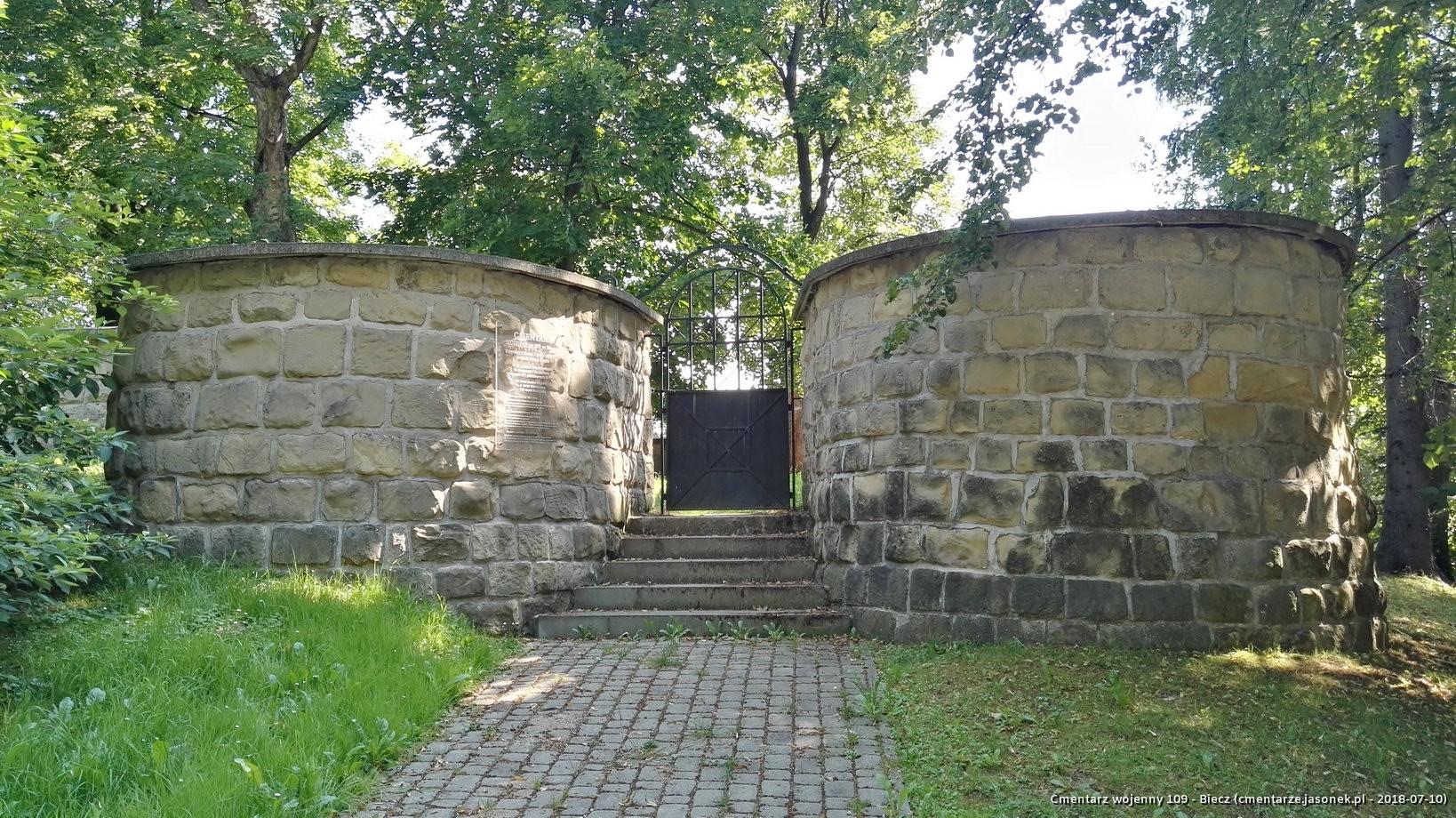 Cmentarz wojenny 109 - Biecz