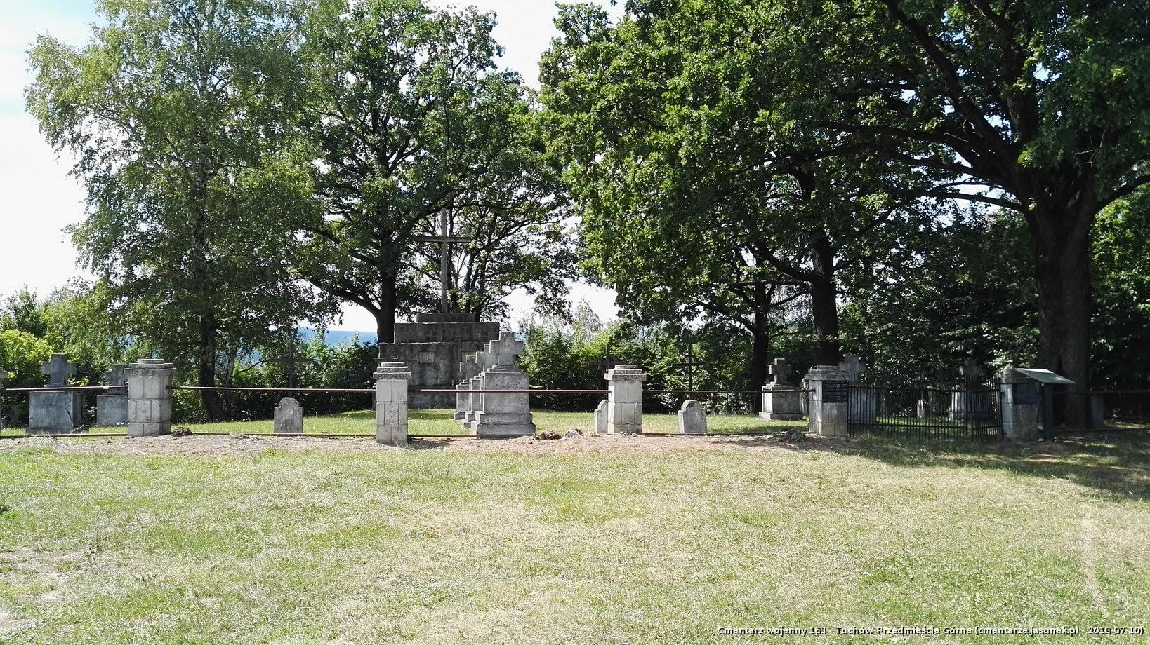 Cmentarz wojenny 163 - Tuchów-Przedmieście Górne