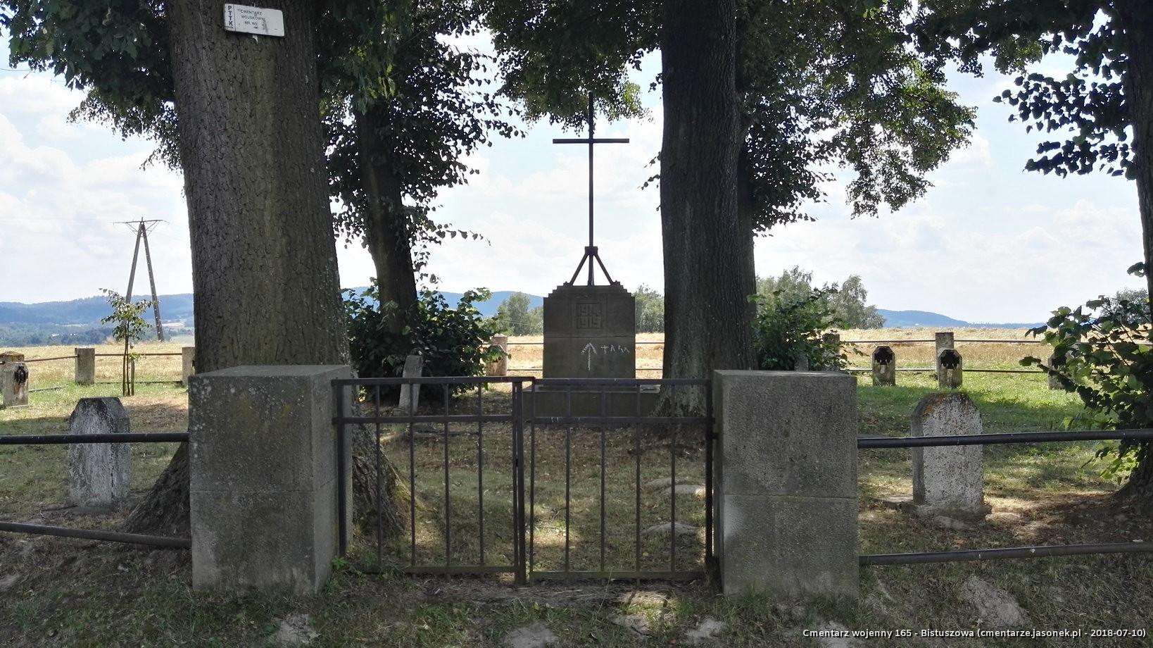 Cmentarz wojenny 165 - Bistuszowa