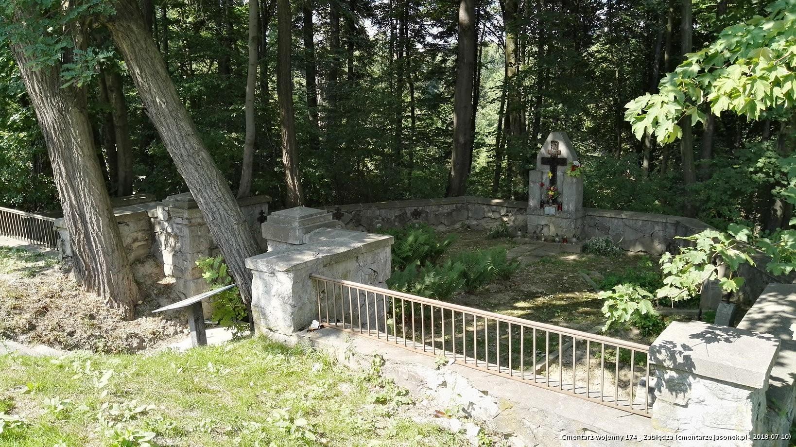 Cmentarz wojenny 174 - Zabłędza