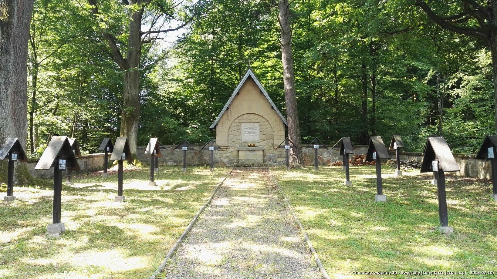 Cmentarz wojenny 30 - Święcany