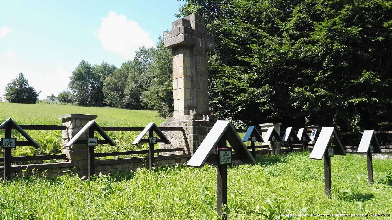 Cmentarz wojenny 31 - Szerzyny