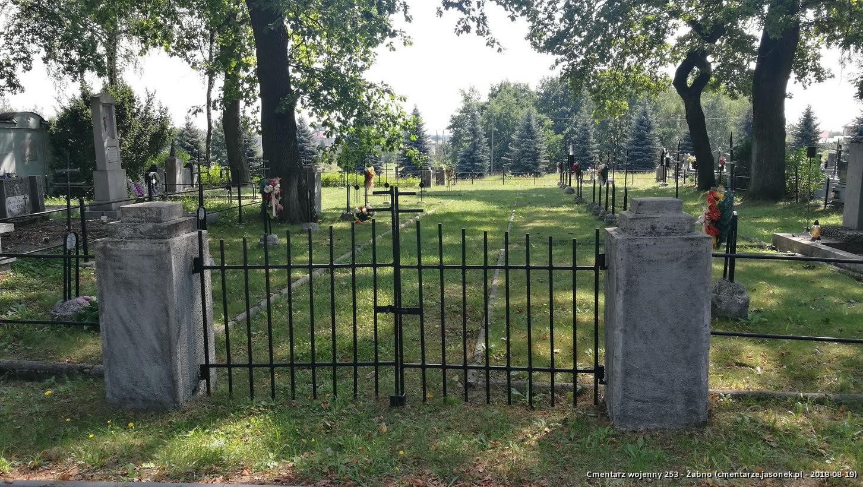 Cmentarz wojenny 253 - Żabno
