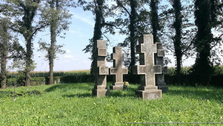 Cmentarz wojenny 257 - Biskupice Radłowskie Zawodzie