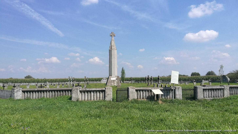 Cmentarz wojenny 258 - Biskupice Radłowskie