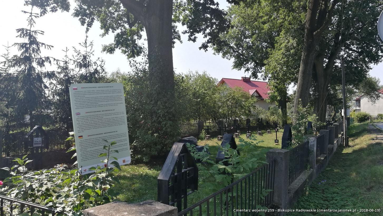 Cmentarz wojenny 259 - Biskupice Radłowskie