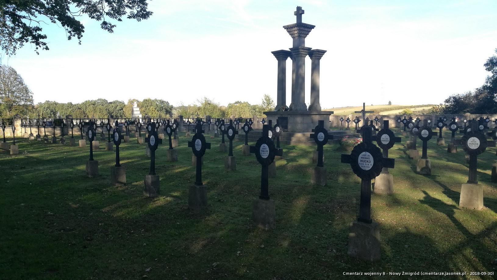 Cmentarz wojenny 8 - Nowy Żmigród