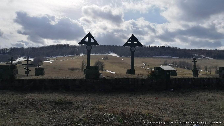 Cmentarz wojenny 47- Konieczna