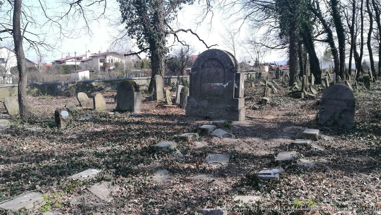 Cmentarz wojenny z I wojny nr 275 - Brzesko (kirkut żydowski)