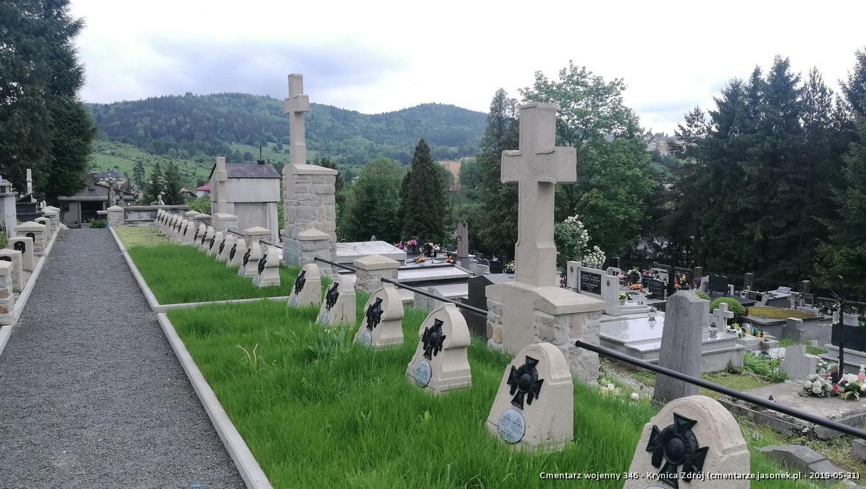 Cmentarz wojenny 346 - Krynica Zdrój (cm. paraf.)