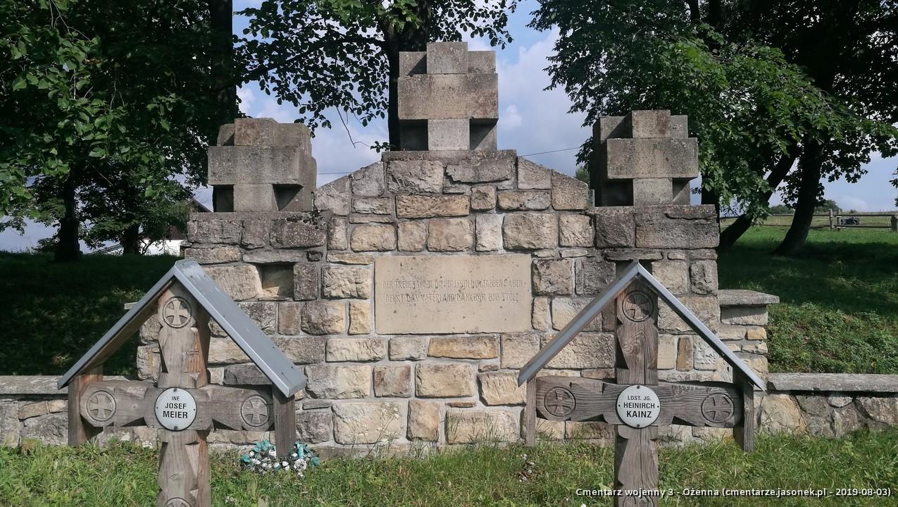 Cmentarz wojenny 3 - Ożenna