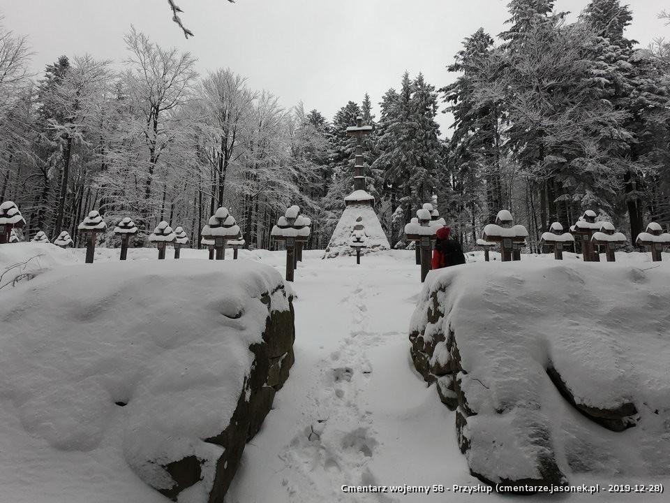 Cmentarz wojenny 58 - Przysłup