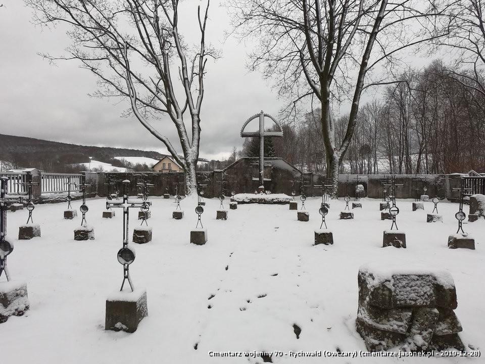 Cmentarz wojenny 70 - Owczary (Rychwałd)