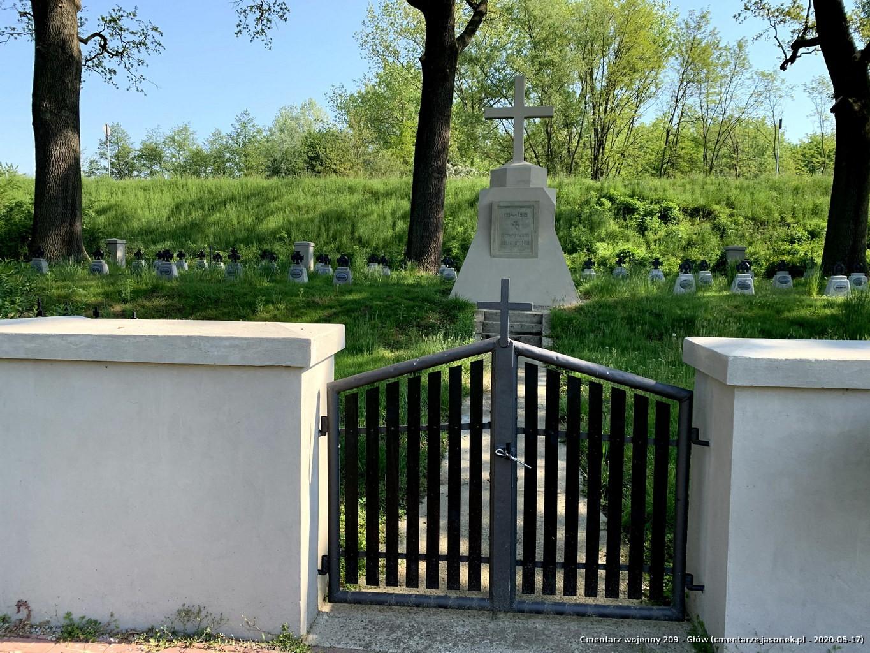 Cmentarz wojenny 209 - Glów