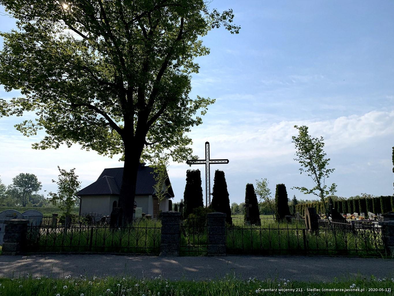 Cmentarz wojenny 211 - Siedlec