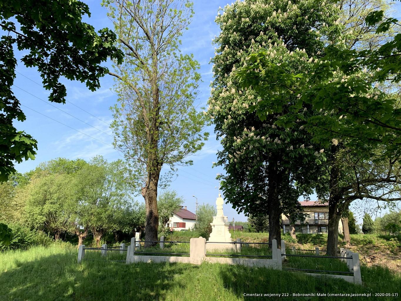 Cmentarz wojenny 212 - Bobrowniki Małe