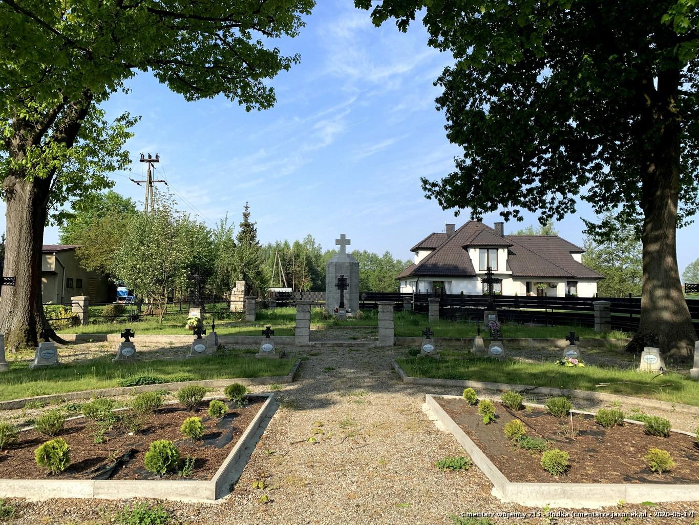Cmentarz wojenny 213 - Rudka