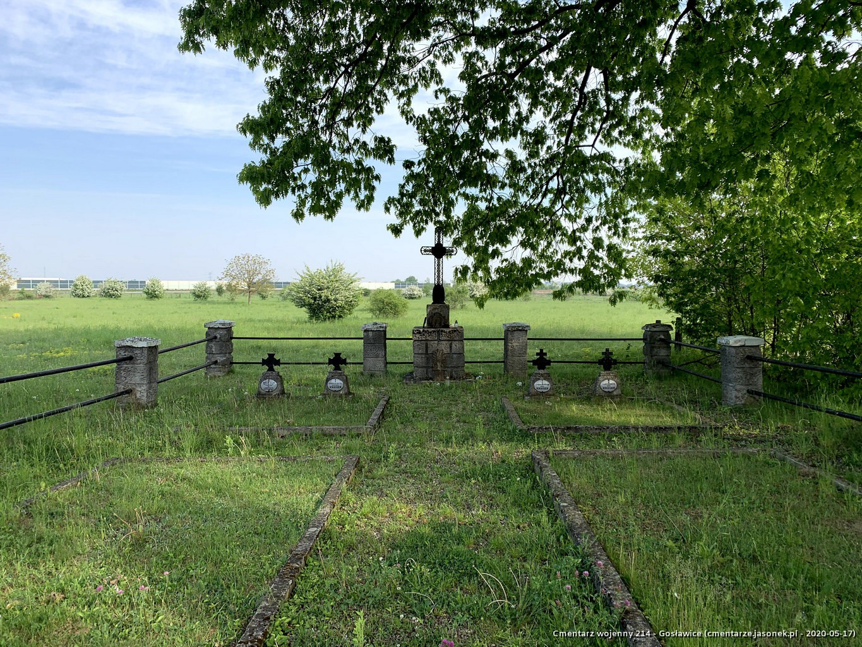 Cmentarz wojenny 214 - Gosławice