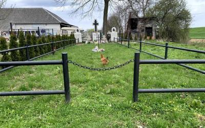Cmentarz wojenny 320 - Niedary (2021)