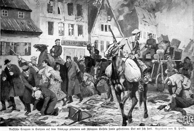 Wielka Wojna w Bochni i okolicy